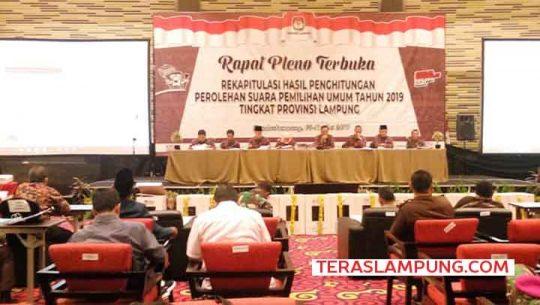 KPU Lampung Targetkan Rekapitulasi Suara Hasil Pemilu 2019 Tiga Hari Beres