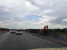 Jalan Tol Kayu Agung-Palembang(Kompas.com/ERWIN HUTAPEA)