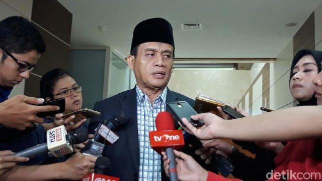 Juru Kampanye Nasional BPN, Muhammad Syafii (Foto: Tsarina/detikcom)