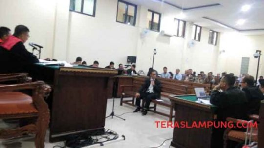Khamami Bantah Setor Uang kepada Pejabat Polda Lampung