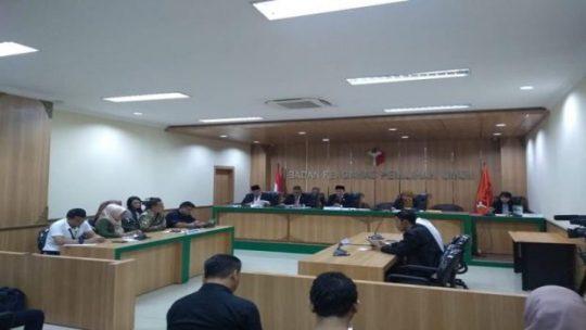 Suasana sidang putusan pelanggaran administrasi situng, Kamis (16/5/2019). JIBI/Bisnis - Jaffry Prabu Prakoso