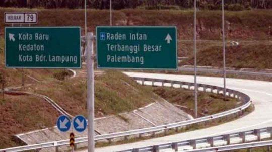 Beroperasi Mulai 29 Mei 2019, Tol Terbanggi Besar-Palembang Bisa Dilalui Pemudik