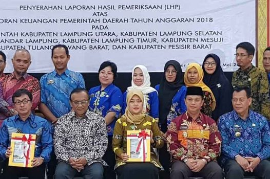 Setelah 20 Tahun, Akhirnya Lampung Timur Raih WTP dari BPK