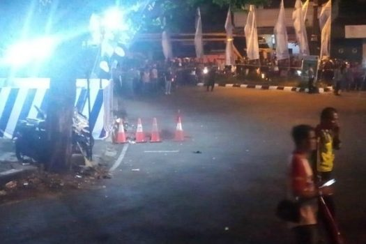 Senin Malam, Bom Meledak di Pos Polisi Kartasura Jawa Tengah
