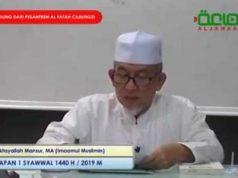 Imam Jama'ah Muslimin (Hizbullah), Yakhsyallah Mansur.
