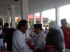 Walikota Herman HN Gelar Open House di Rumash Dinas Walikota Bandarlampung, Rabu, 5 Juni 2019.