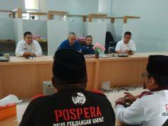 Suasana pertemuan Pospera Lampung Utara dengan pihak BPN