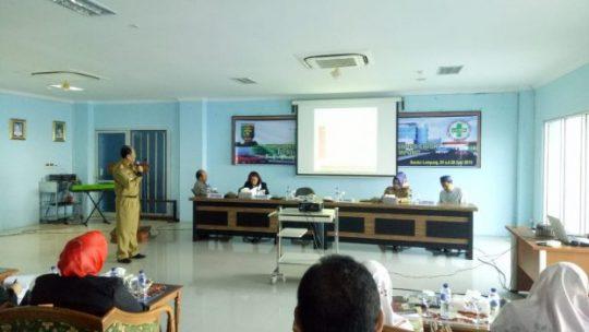 Dinas Kesehatan Lampung Dorong RSUD Abdul Moeloek Raih SNARS