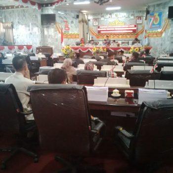 Pembahasan Lima Raperda Belum Beres, Sidang Paripurna DPRD Lampura Ditunda