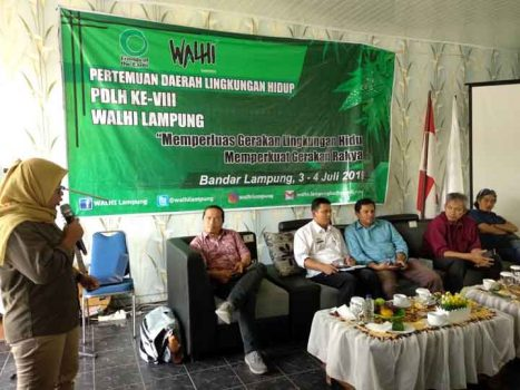 Walhi Lampung Gelar Pemilihan Direktur Eksekutif dan Dewan Daerah