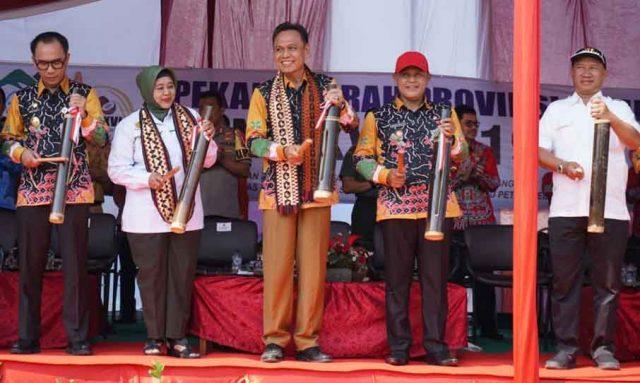 Pembukaan Peda KTNA Provinsi Lampung di Kalianda, Lampung Selatan, Senin, 15 Juli 2019.
