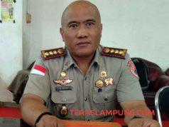 Sekretaris BPBD Kota Bandarlampung, A Rizky
