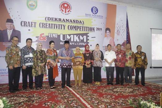 Gubernur Sumsel: Dekranasda Harus Mampu Buka Peluang Bisnis Bagi UMKM