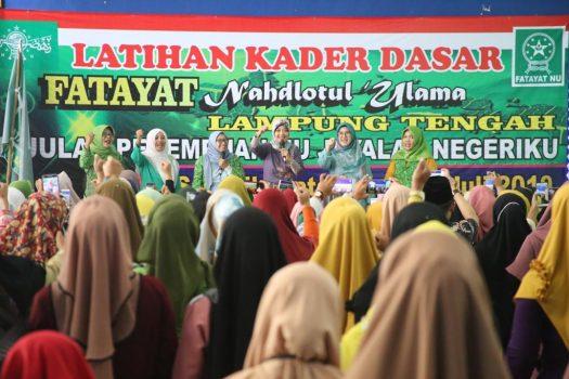 Wagub Chusnunia Chalim Ajak Fatayat NU Majukan Lampung