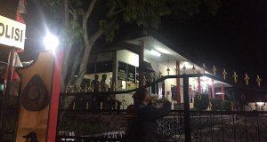 Suasana di Mapolres Tanjungpinang (Foto: Adi/Batamnews)