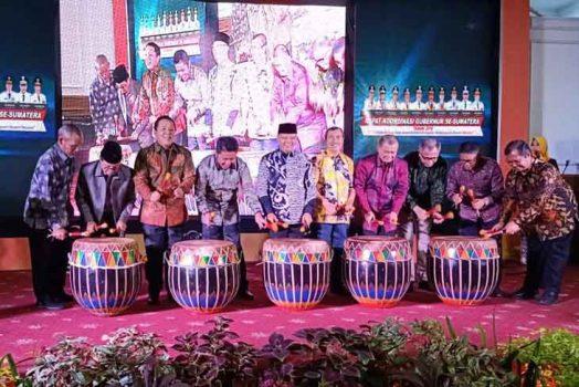 Rakor di Bengkulu, Ini Delapan Komitmen Gubernur Se-Sumatera