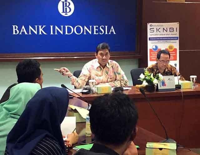 Kepala Bank Indonesia Perwakilan Lampung, Budiharto Setyawan, menjelaskan penyempurnaaan sistem kliring yang diberlakukan BI mulai 2 September 2019 mendatang.