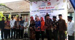 Halalbihalal BKKBN Lampung.