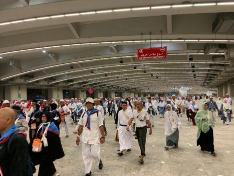 Jamaah Haji Indonesia yang Lakukan Nafar Awal Mulai Bergerak ke Makkah