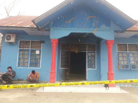 Seteleh Teror Wartawan, Kantor PWI Aceh Tenggara Dibakar OTK