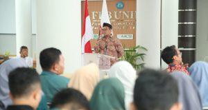 Dialog Pelibatan Civitas Academica dalam Pencegahan Terorisme di kampus Universitas Lampung.