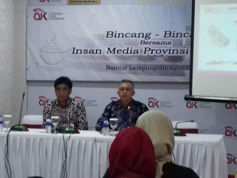 Semester Pertama 2019, Pertumbuhan Industri Jasa Keuangan di Lampung Membaik