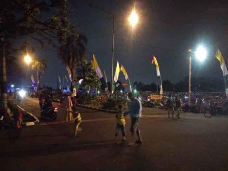 Gempa 7,4 SR, Ribuan Warga Mengungsi di Kantor Gubernur Lampung