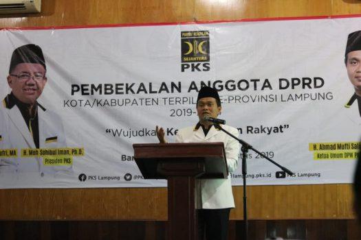 Ahmad Mufti Salim Ajak Anggota Legislatif PKS Bersama Buat Kebaikan