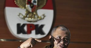 Ketua KPK Agus Rahardjo. - ANTARA via Bisnis.com