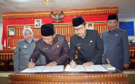 DPRD Lampung Selatan Sahkan Raperda APBDP 2019
