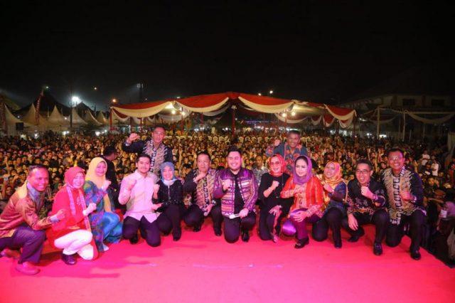 Penutupan Pekan Raya Lampung 2019.