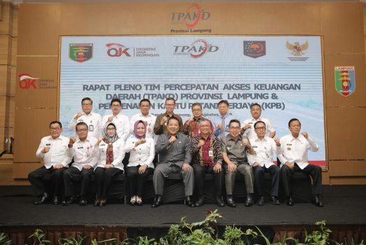 Gubernur Arinal Dorong TPAKD Berperan Implementasikan Kartu Petani Berjaya