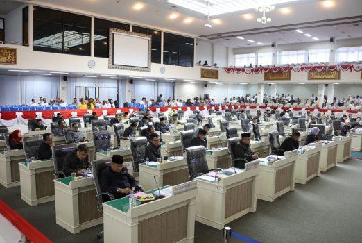 Pemprov-DPRD Lampung Sahkan 13 Raperda, Tarik 7 Raperda dari Propemperda