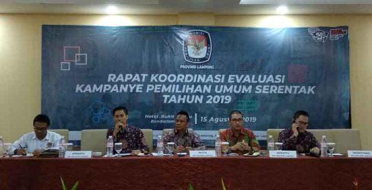 Evaluasi Kampanye Pemilu 2019 di Lampung: Semua Parpol tak Daftarkan Akun Resmi Medsos