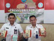 Barang bukti 7,2 kg sabu-sabu disita BNN Lampung.