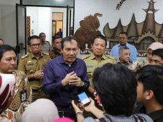Wakil Ketua KPK Saut Situmorang menjelaskan soal kerjasama Pemprov Lampung dengan BPN dan Kanwil Pajak.
