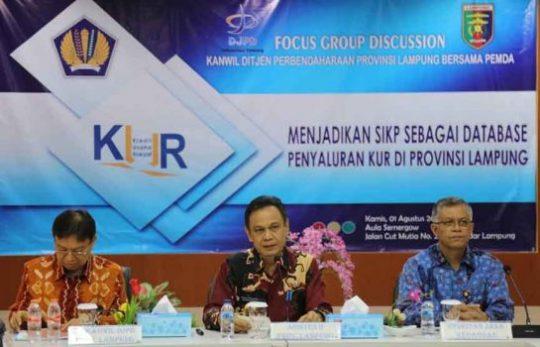 Masih Banyak Calon Debitur UMKM di Lampung di Lampung Belum Terdata
