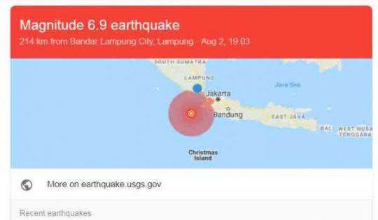 Soal Gempa Banten, Ini Perbedaan Analisis BMKG,  USGS, dan GFZ