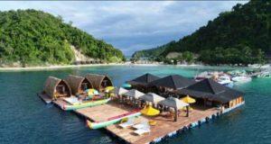 Tempat Wisata Tegal Mas di Pulau Tegal (Foto: Istimewa)