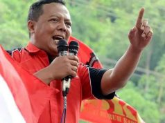 Ketua Umum Federasi Serikat Buruh Karya Utama (FSBKU), Yohanes Joko Purwanto