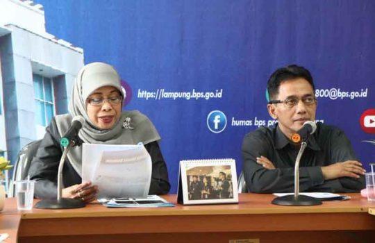 Ekspor Lampung pada Agustus 2019 Naik 15, 21 Persen