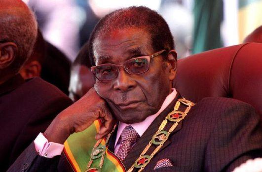 Mantan presiden Zimbabwe Robert Mugabe.[REUTERS]