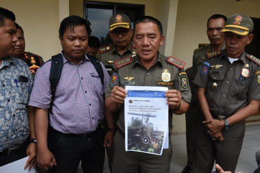 Sebarkan Video Hoax Pol PP Bandarlampung Robohkan Masjid, Warganet Dipolisikan