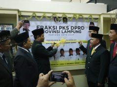 Para anggota DPRD Lampung 2019-2024 dari Fraksi PKS.