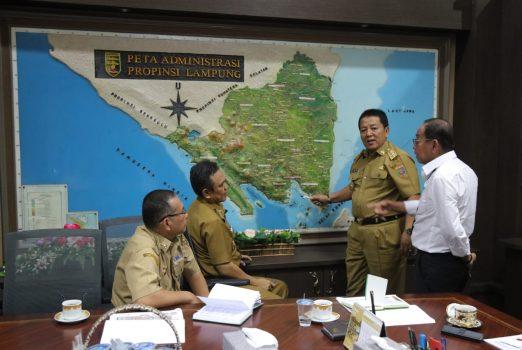 Gubernur Arinal Minta Jalan Penghubung dan Rest Area Tol Terbanggi-Bakauheni Dikonsep Estetis