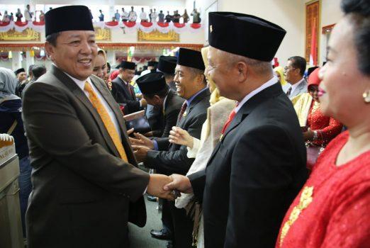 Anggota DPRD Lampung 2019-2024 Dilantik, Ini Harapan Gubernur Arinal
