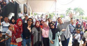 Audisi Liga Dangdut Indonesia (LIDA) 2020 di Lampung dihadiri Rafi DA, Nabila LIDA, dan Cut LIDA