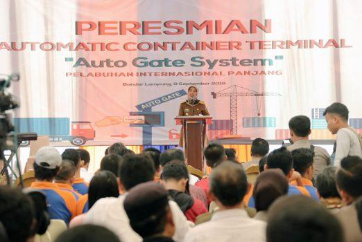 Pemprov Lampung Dukung Digitalisasi Pelabuhan Panjang
