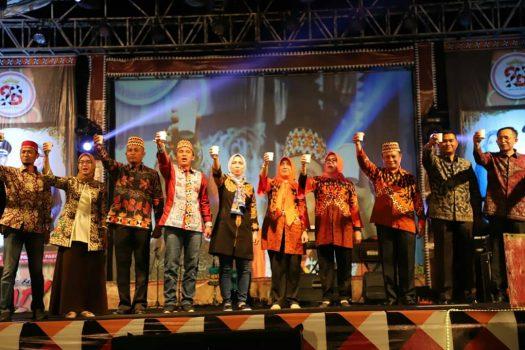Bupati Lampung Barat Tutup Liwa Fair 2019
