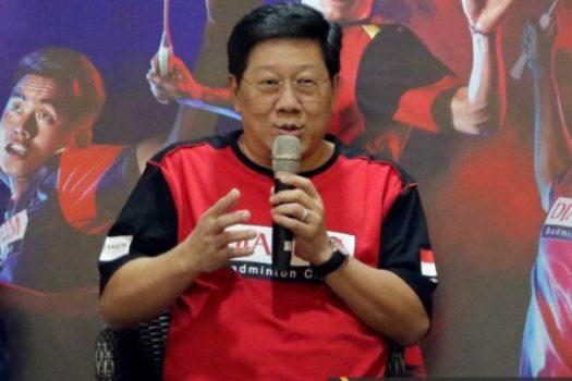 Program Director Bakti Olahraga Djarum Foundation Yoppy Rosimin. - PB Djarum